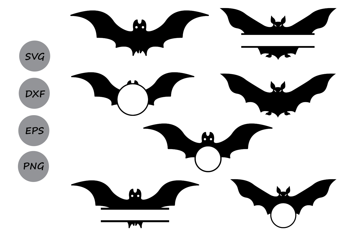 bats svg #725, Download drawings