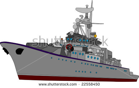 Battleship clipart #1, Download drawings