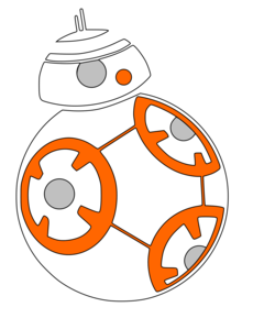 bb8 svg #878, Download drawings