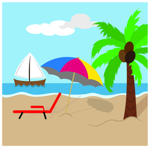 Beach clipart #6, Download drawings