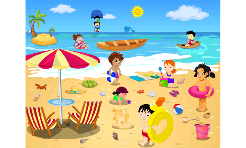 Beach clipart #1, Download drawings