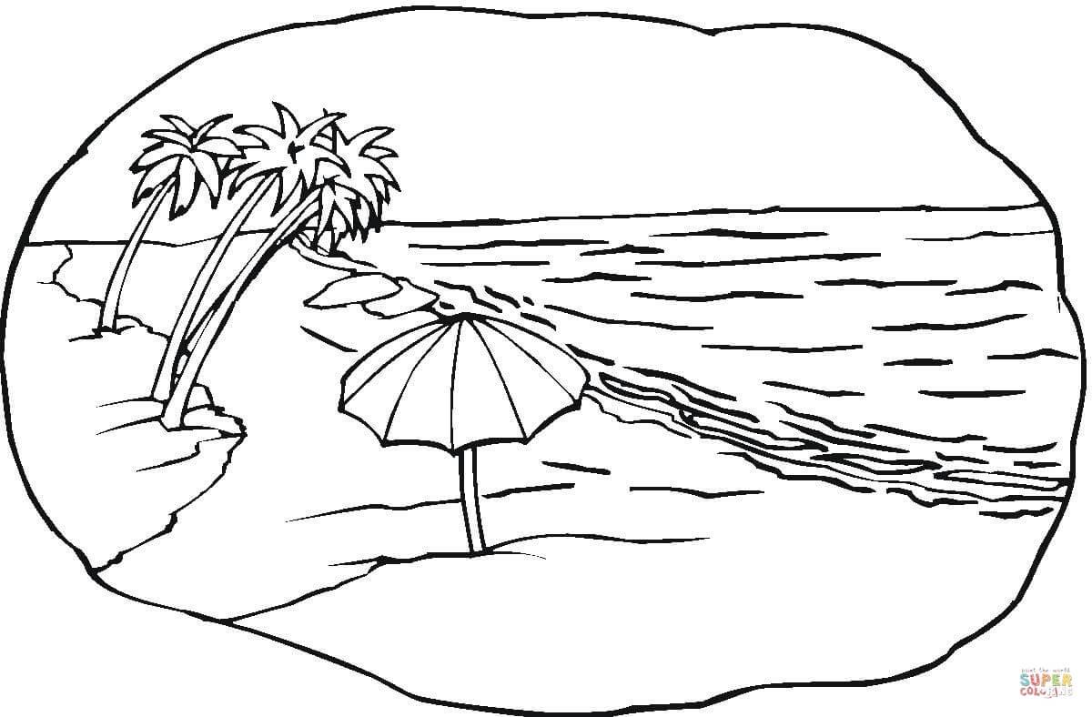 Krajobraz coloring #4, Download drawings