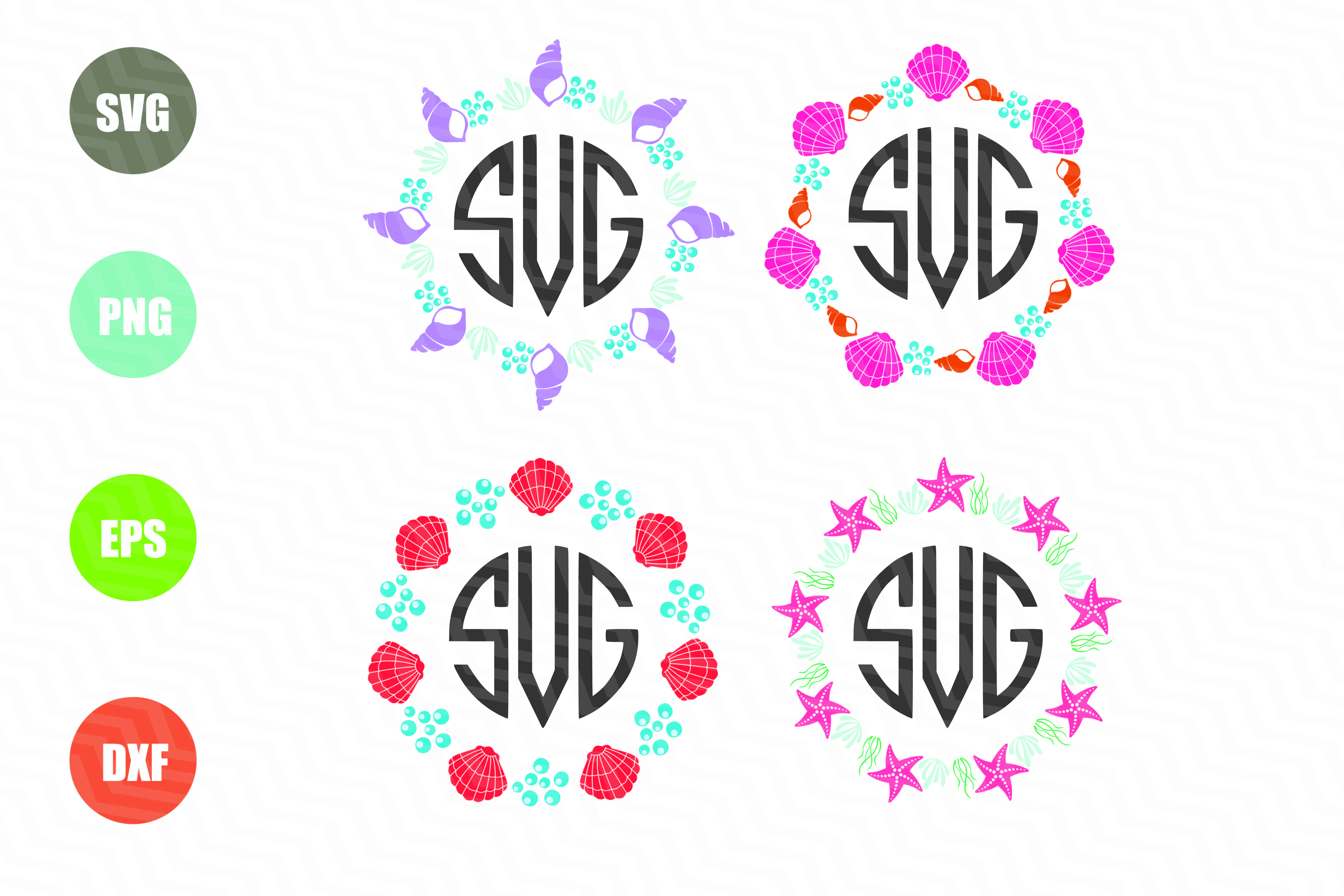 beach monogram svg #1050, Download drawings