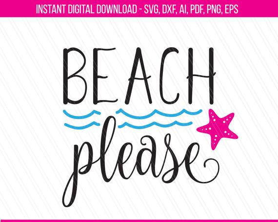 beach please svg #1018, Download drawings