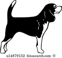 Beagle clipart #2, Download drawings