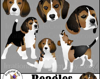 Beagle svg #609, Download drawings