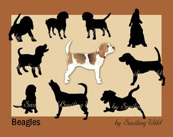 Beagle svg #740, Download drawings