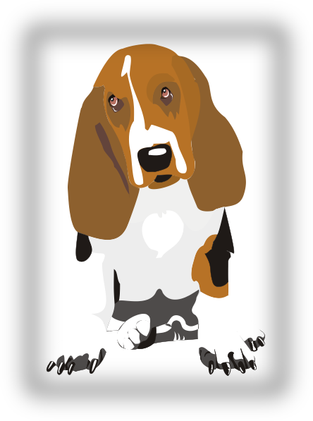 Beagle svg #2, Download drawings
