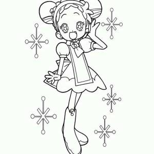 Bean Fairy coloring #6, Download drawings