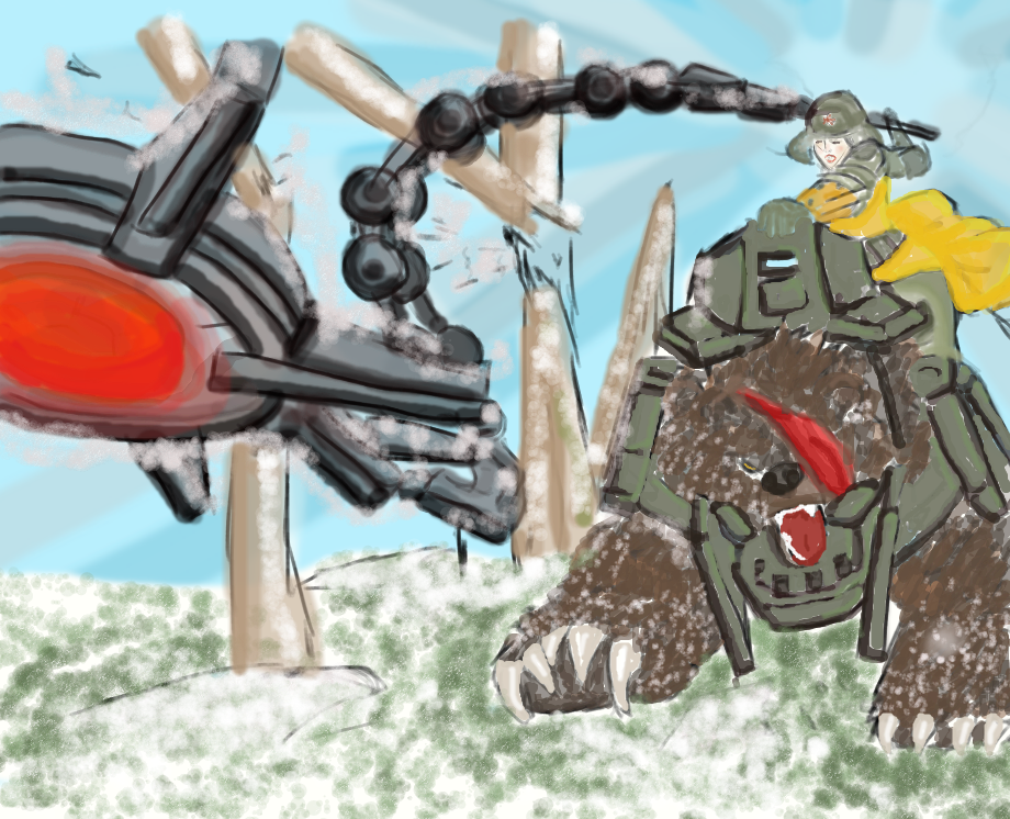 Bear Cavalry coloring #10, Download drawings