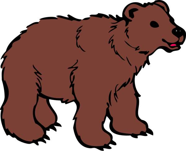Bear clipart #11, Download drawings