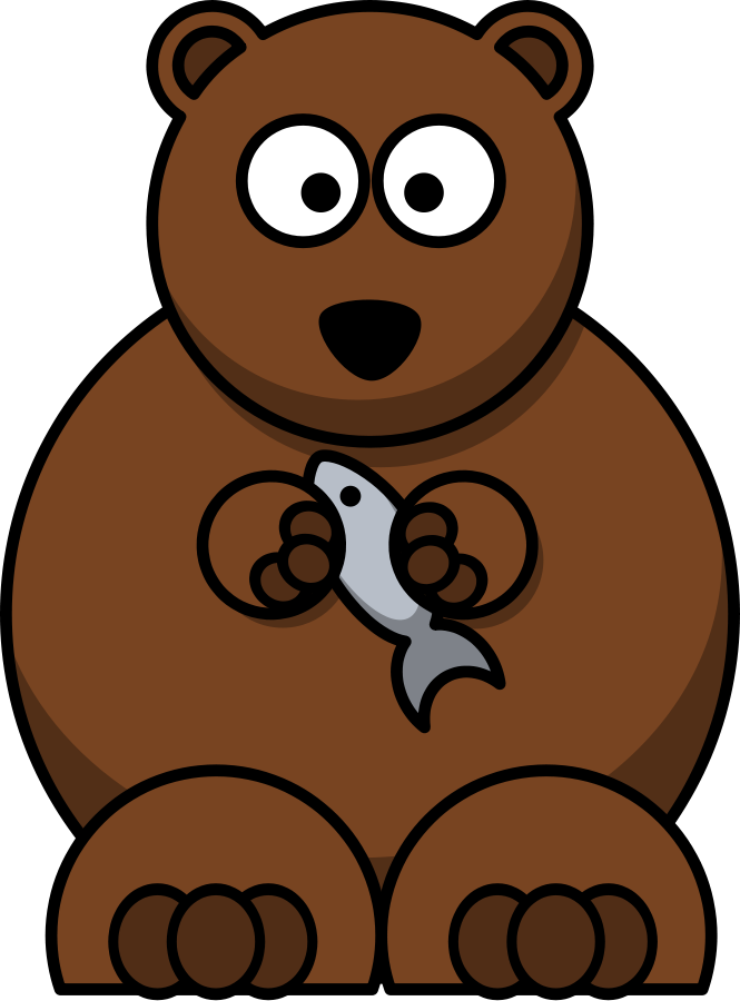 Bear clipart #4, Download drawings