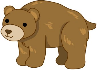 Bear clipart #1, Download drawings