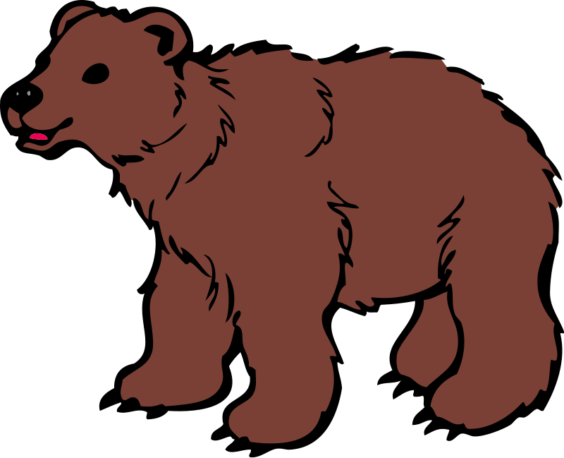 Grizzly Cubs clipart #3, Download drawings