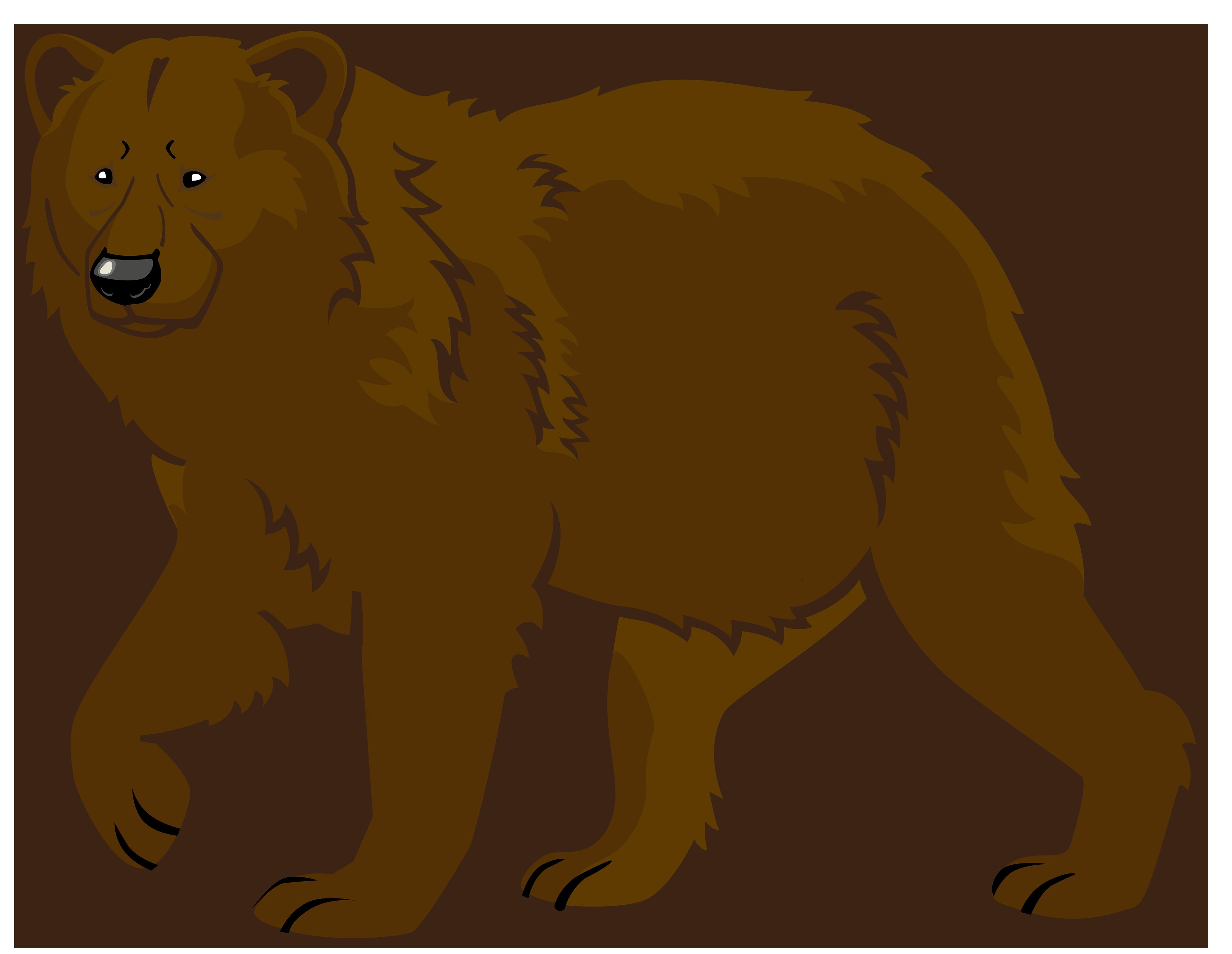 Bear clipart #2, Download drawings