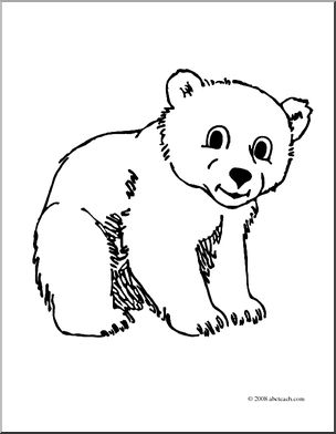 Bear Cub clipart #4, Download drawings