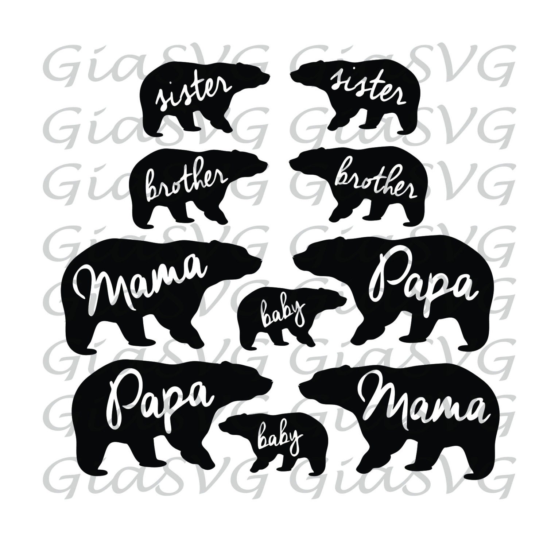 Bear Cub svg #9, Download drawings