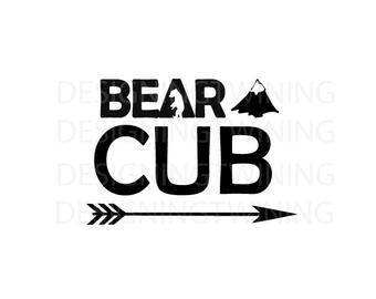Bear Cub svg #191, Download drawings
