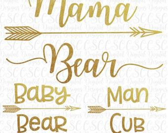 Bear Cub svg #4, Download drawings