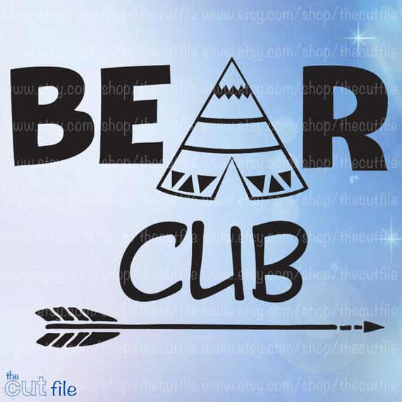 Bear Cub svg #193, Download drawings