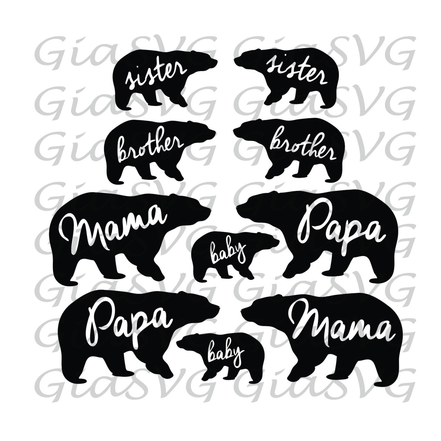 Bear Cub svg #194, Download drawings