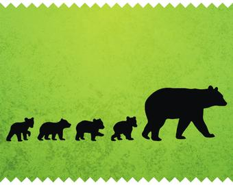 Bear Cub svg #184, Download drawings