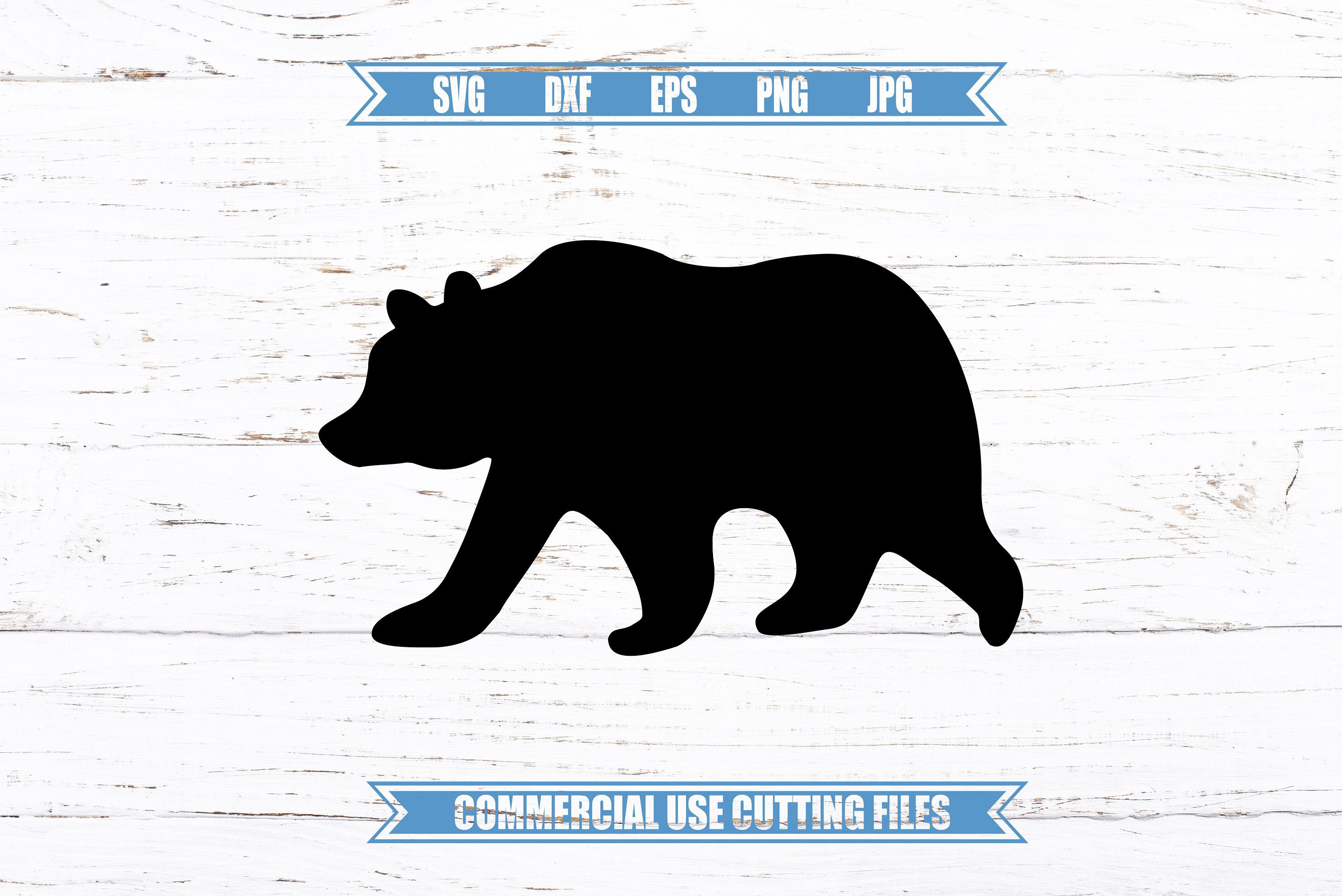 bear silhouette svg #525, Download drawings