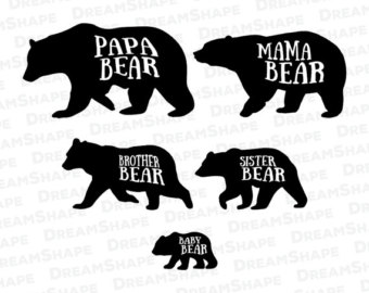 Bear svg #2, Download drawings