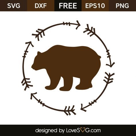 bear svg free #363, Download drawings