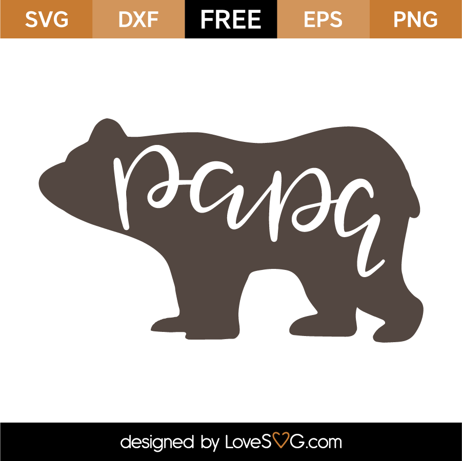 bear svg free #356, Download drawings