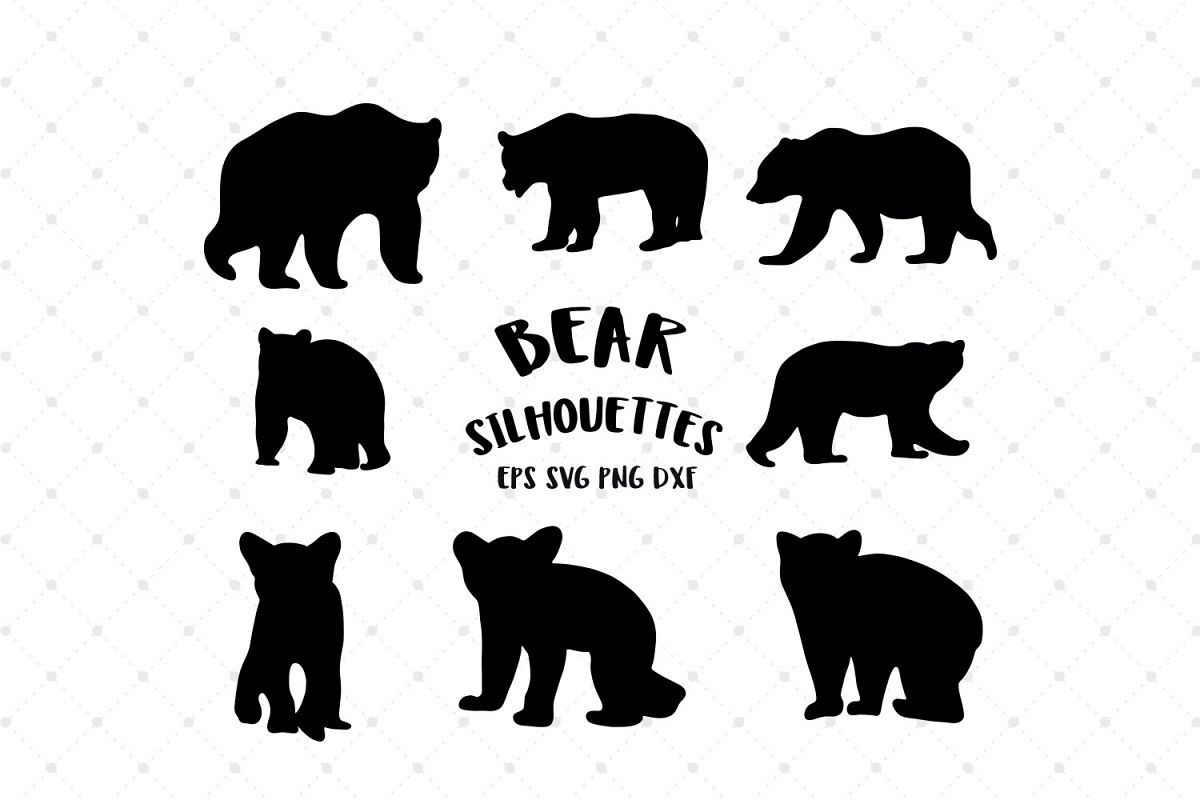bear svg free #360, Download drawings