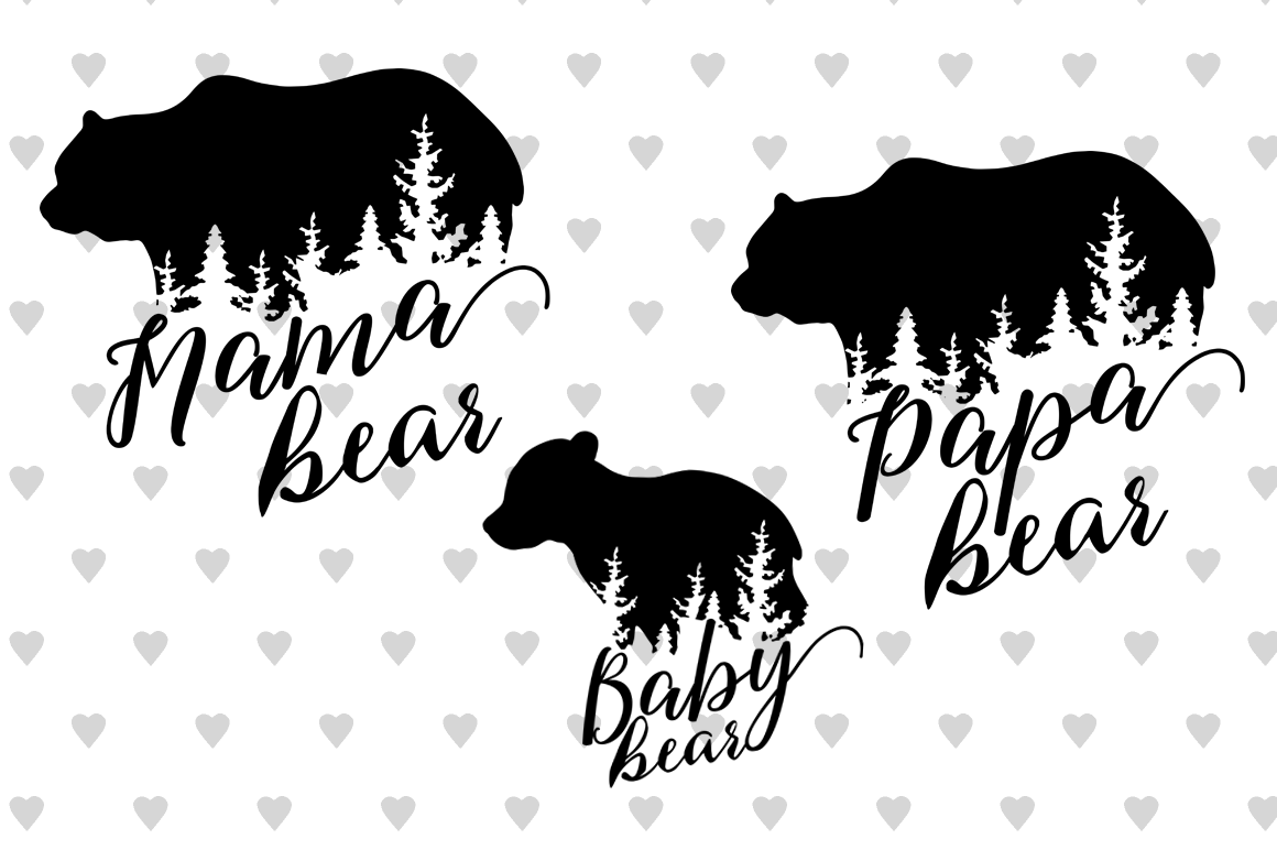 bear svg free #352, Download drawings
