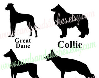 Bearded Collie svg #12, Download drawings