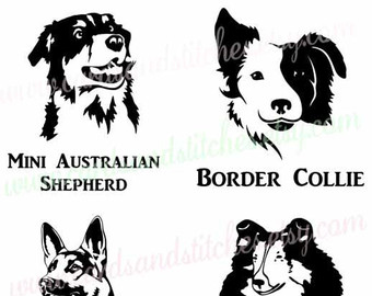 Bearded Collie svg #14, Download drawings