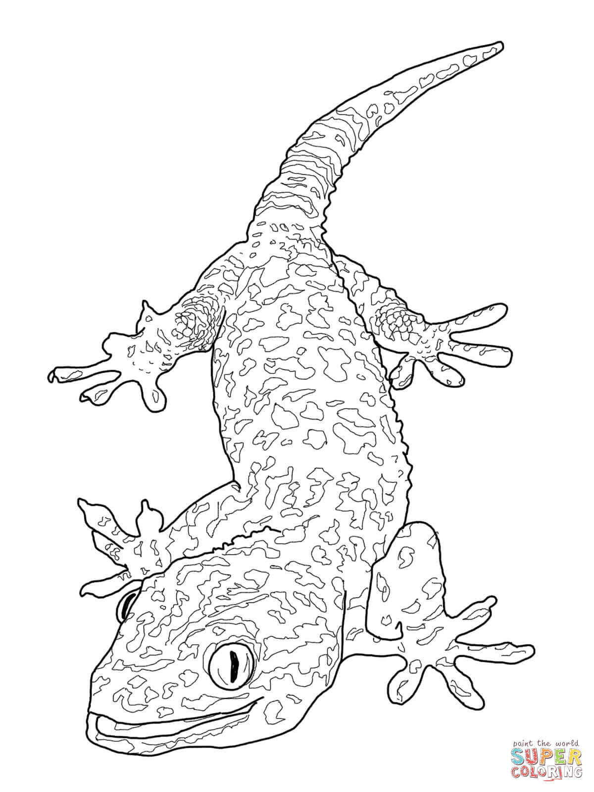 Bearded Dragon coloring #20, Download drawings