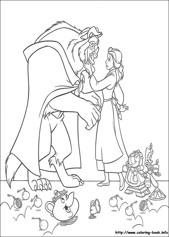 Beast coloring #9, Download drawings