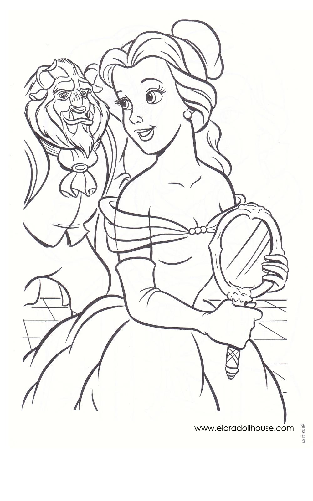 Beast Girl coloring #13, Download drawings