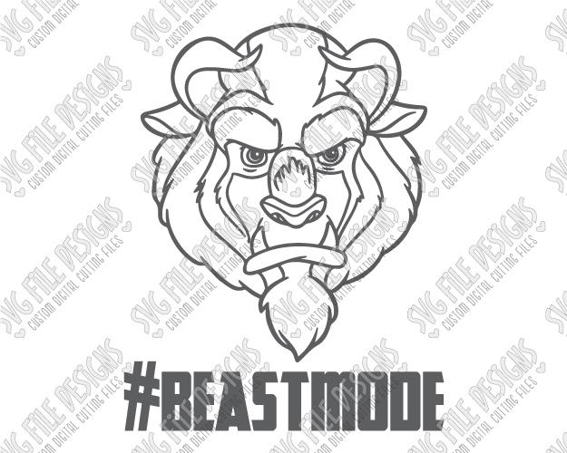 Beast svg #15, Download drawings