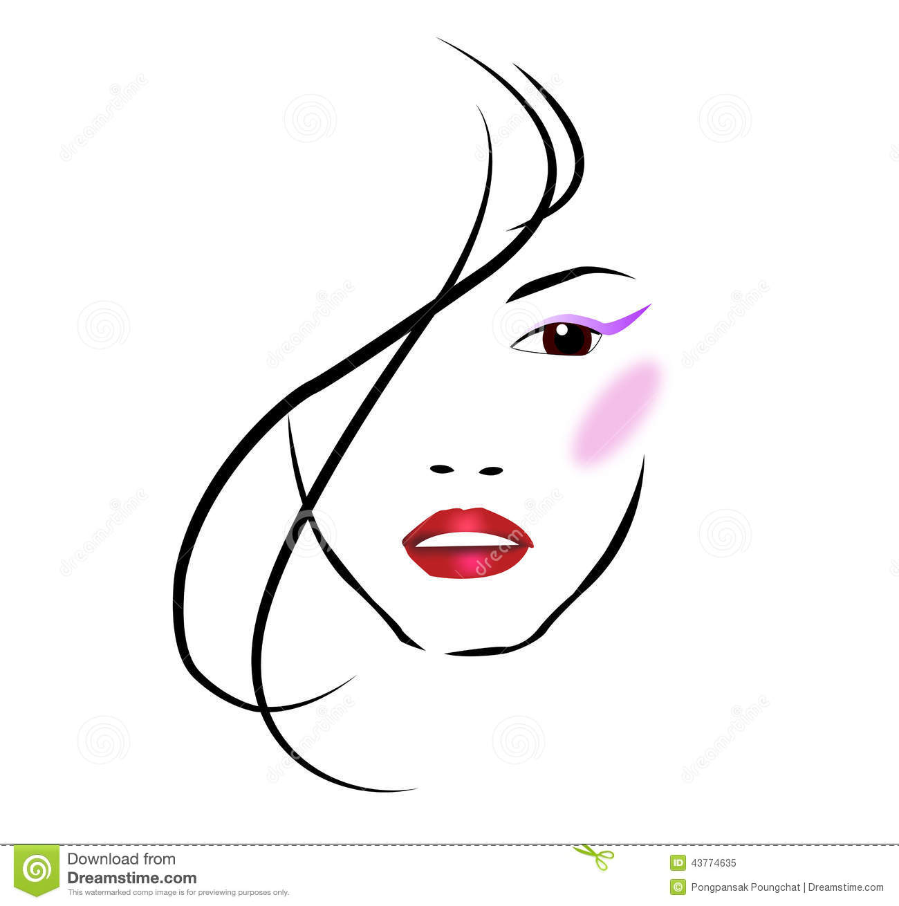 Beauty clipart #6, Download drawings