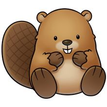Beaver clipart #1, Download drawings