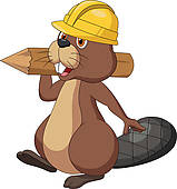 Beaver clipart #8, Download drawings