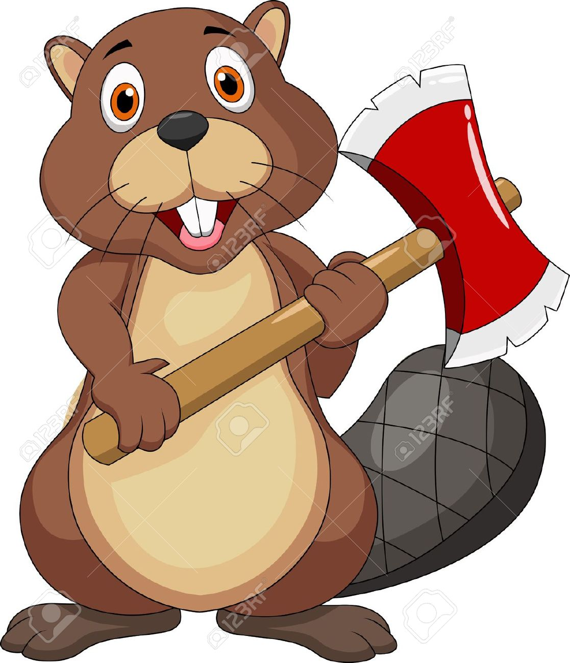 Beaver clipart #3, Download drawings