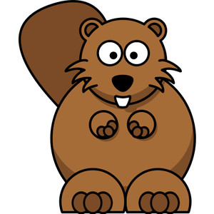 Beaver clipart #10, Download drawings