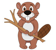 Beaver clipart #19, Download drawings