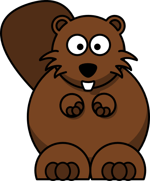 Beaver clipart #16, Download drawings