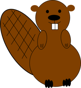 Beaver clipart #12, Download drawings
