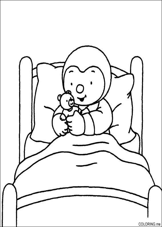 Bed coloring, Download Bed coloring for free 2019