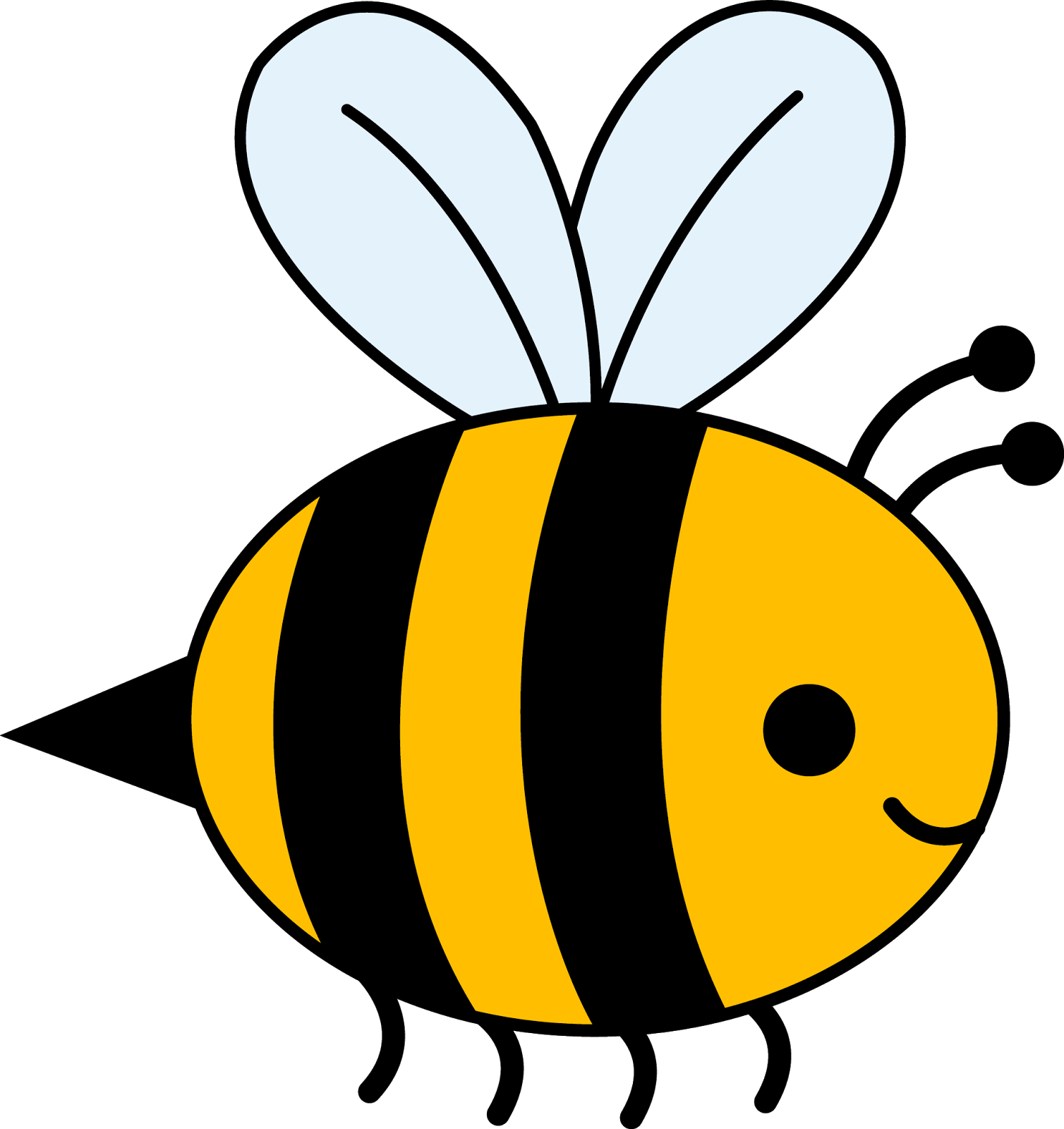 Bee clipart #4, Download drawings
