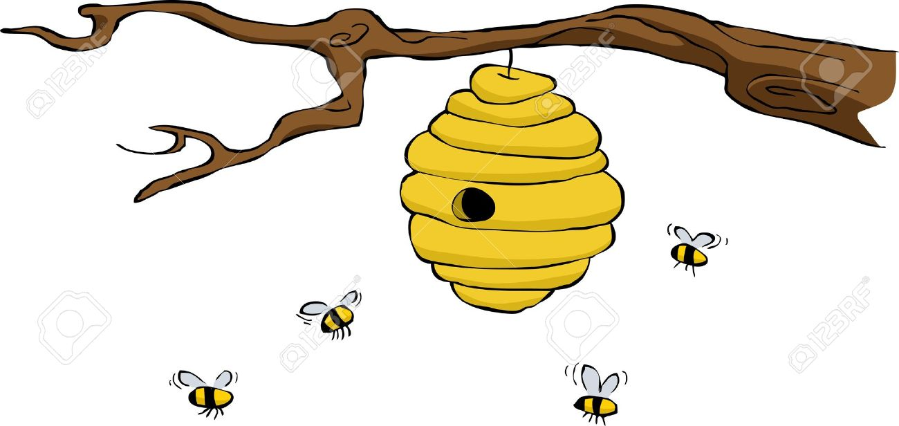 Bee Hive clipart #11, Download drawings