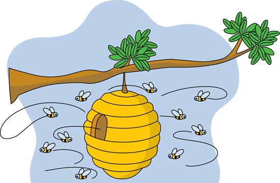 Bee Hive clipart #9, Download drawings